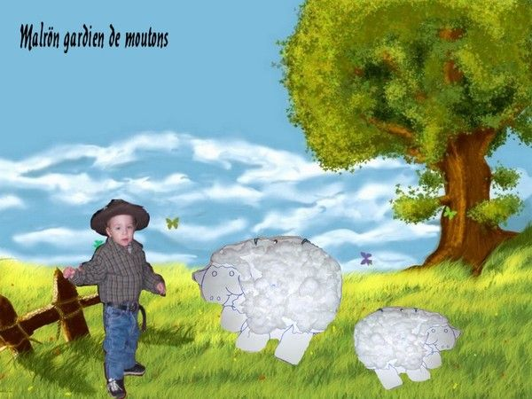 Malrön gardien de moutons