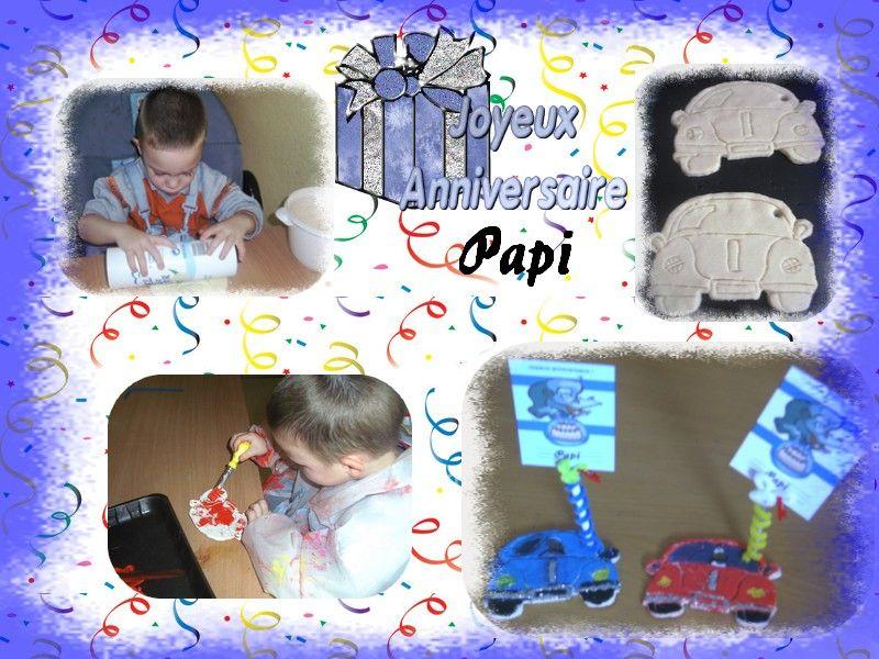 Au paradis des enfants page 10 - Bon anniversaire papi ...