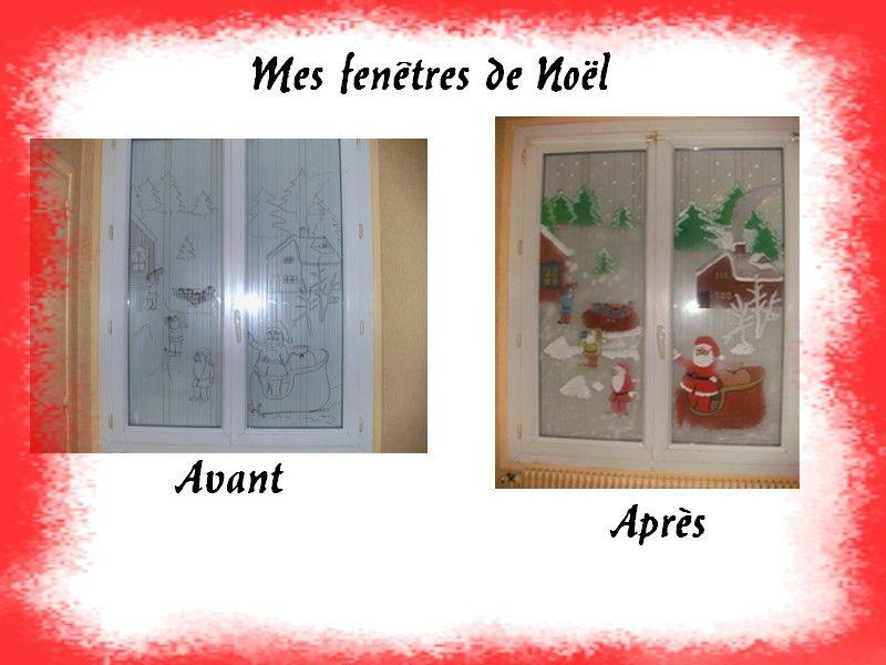 Bricolage de noel page 2 - Peindre sur une vitre ...